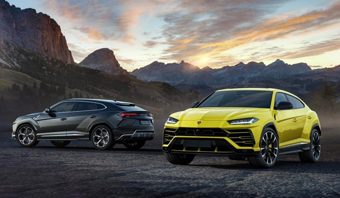 Lamborghini-Urus, world's fastest SUV launched in India