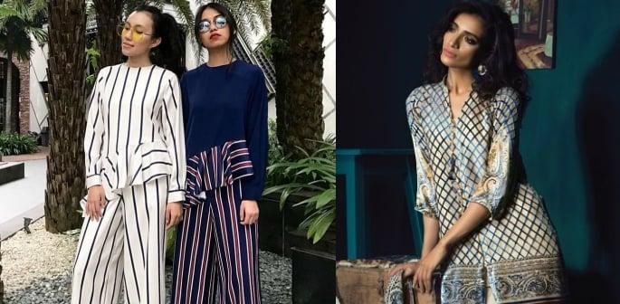 Models wearing modest fashion