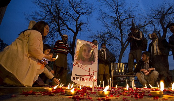 Protests held across Pakistan after 7-year-old girl's rape and murder