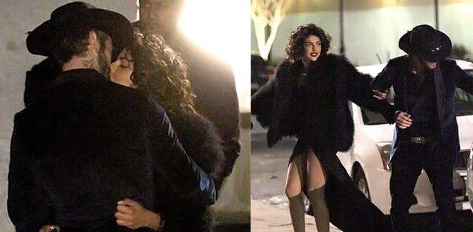 Priyanka filming Quantico