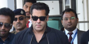 Salman Khan at a Jodhpur court hearing