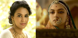 Swara Bhasker reviews Padmaavat and is reduced to a 'Vagina'