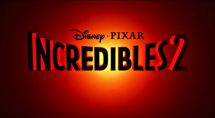 Incredibles 2 title poster