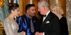 10th Anniversary dinner at Buckingham Palace
