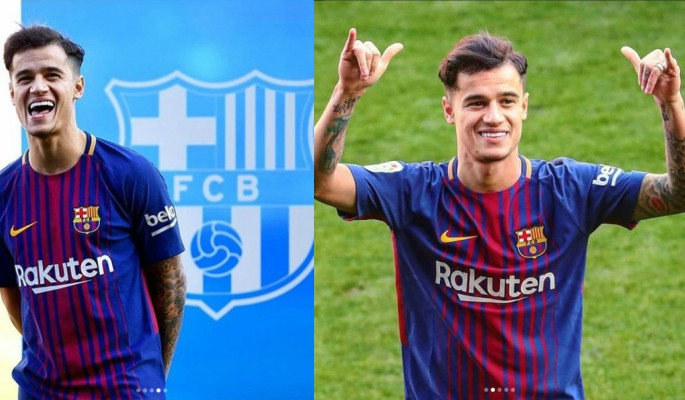 Philippe Coutinho leaves Liverpool for £146 million in the biggest of all 2018 January transfers