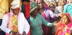83-year-old Indian Man weds very Young Woman for a Son