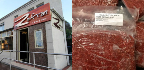 Zafran and mutton found in the restaurant