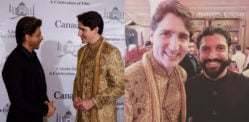 Canadian PM Justin Trudeau meets Bollywood Royalty in India