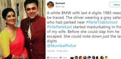 Man caught Masturbating in front of Actor Sumeet Raghavan's Wife