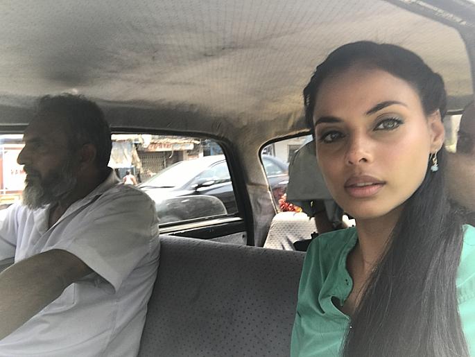 Mishqah taking a selfie