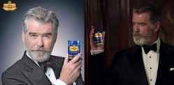 Pierce Brosnan threatened with Fine or Jail over Paan Masala Adverts