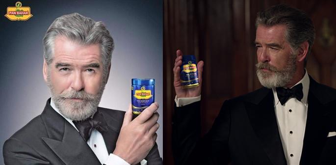 Pierce Brosnan in adverts