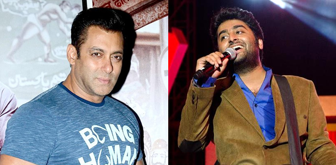 Salman Khan and Arijit Singh feud