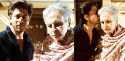 Shahrukh Khan Visits Veteran Actor Dilip Kumar – New Picture!