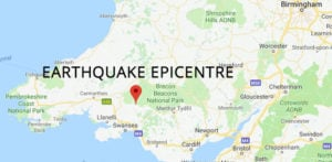 Earthquake hits Parts of United Kingdom with 'Violent Shakes'