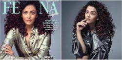 Aishwarya Rai in Glamorous Red Curls for Femina Photoshoot
