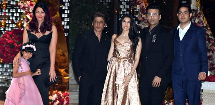 SRK, Aishwarya, Katrina: Stars attend Akash Ambani's Engagement Bash