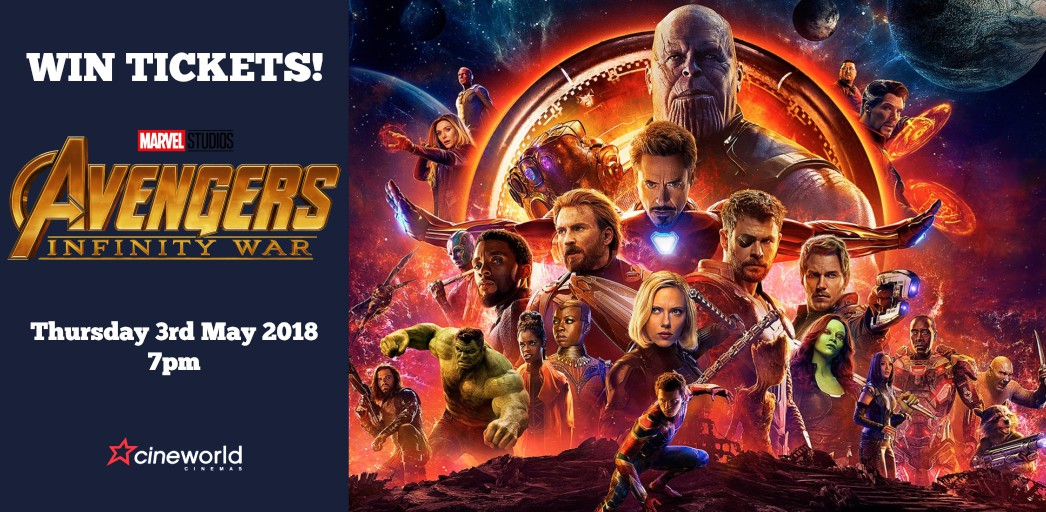Win Tickets to see Avengers: Infinity War | DESIblitz