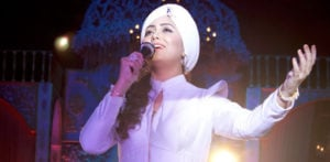 Harshdeep Kaur performs at Birmingham Town Hall