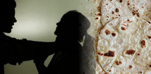 indian wife beaten for wrong size chapatis
