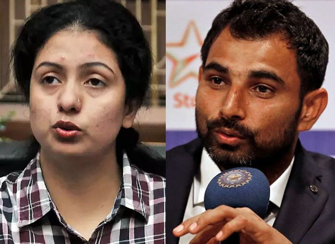 Why did Pakistani woman meet Indian cricketer Shami in Dubai?