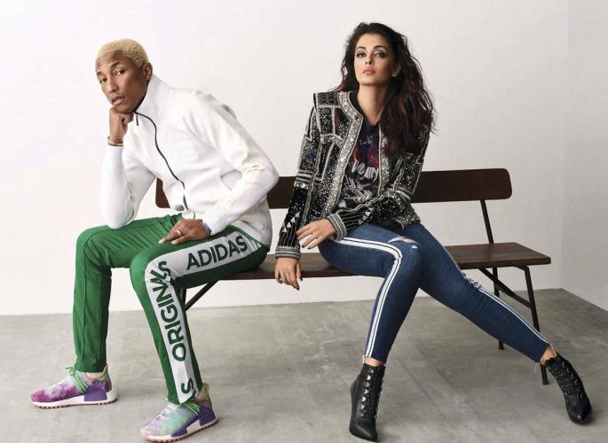 Aishwarya Rai and Pharell Williams vogue cover