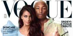 Aishwarya Rai & Pharrell Williams are Quirky on Vogue India cover