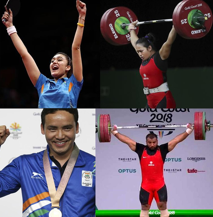 CWG 2018 India gold