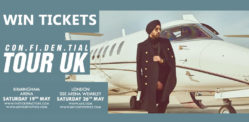 Win Tickets to see Diljit Dosanjh CON.FI.DEN.TIAL Tour UK
