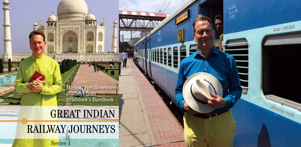 Win a DVD copy of Great Indian Railway Journeys