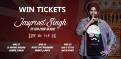 Win Tickets to see Jaspreet Singh Live