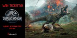 Win Tickets to see Jurassic World: Fallen Kingdom