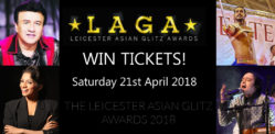 Win Tickets for the Leicester Asian Glitz Awards 2018