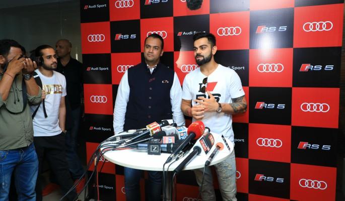 ویرات کوہلی نئے آڈی RS5 کوپ