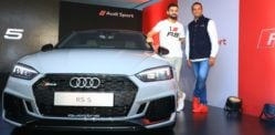 Virat Kohli loves his new Audi RS5 Coupe