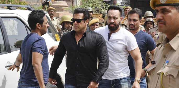 Salman Khan gets 5 Year Jail Sentence for Poaching