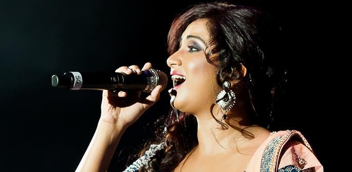 Shreya Ghoshal live at Birmingham Symphony Hall