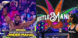 Desi WWE Superstars impress at WrestleMania 34