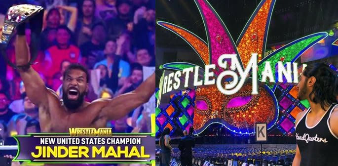Desi WWE Superstars at WrestleMania 34