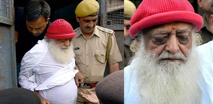 asaram bapu jailed