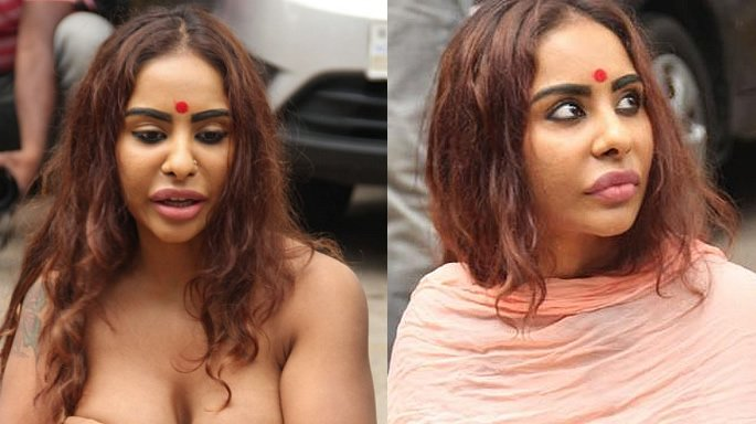 sri reddy protest