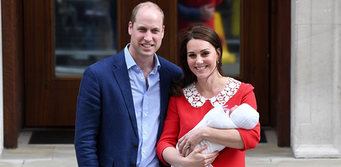 William and Kate welcome third Royal Child