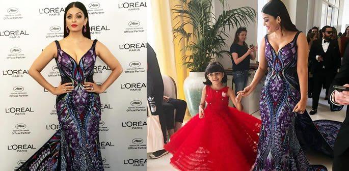 Aishwarya Rai Bachchan brings Beauty and Drama to Cannes 2018