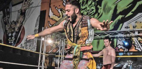 Amir Jordan WWE UK Tournament