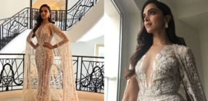 Deepika Padukone Shines in Sheer at Cannes 2018