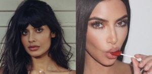 "Jameela Jamil puts Kim Kardashian in ""The Bad Place"""