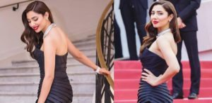 Mahira Khan makes a Dazzling Debut at Cannes 2018