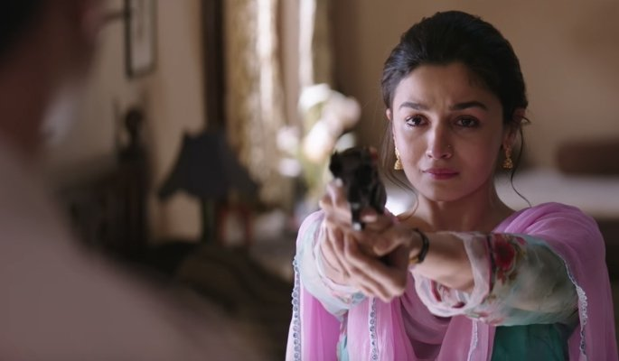 Raazi Shooting Scene
