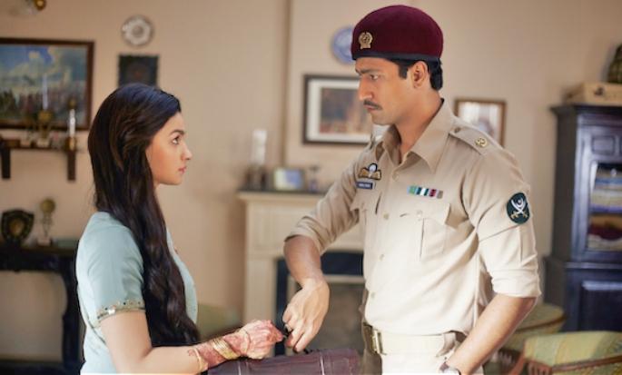Alia Bhatt and Vicky Kaushal Raazi