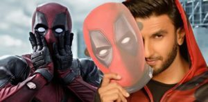 Ranveer Singh dubs Hindi Version of Deadpool 2